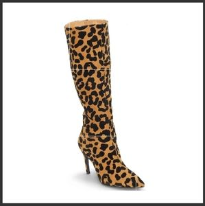 Venus leopard print boots